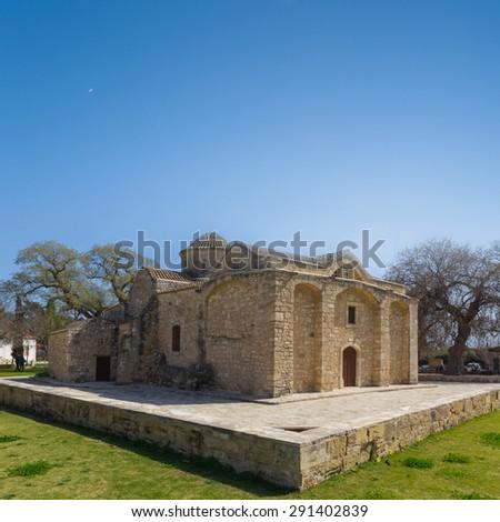 christian church, cyprus - stock photo