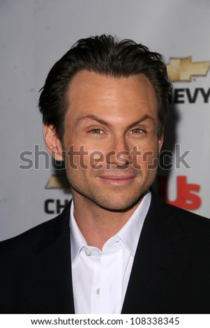 Christian Slater  at the premiere party for 'My Own Worst Enemy'. Craft, Los Angeles, CA. 10-04-08