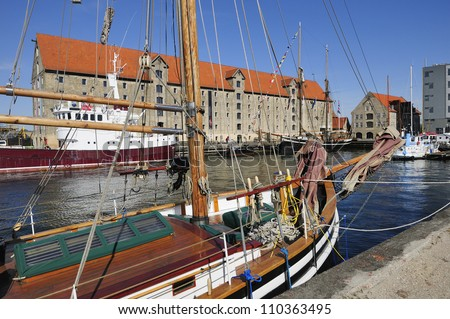 Christianshavn in Copenhagen - Denmark - stock photo