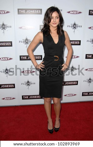 "Christine Evangelista at ""The Joneses"" Los Angeles Premiere, ArcLight Cinemas, Hollywood, CA. 04-08-10"