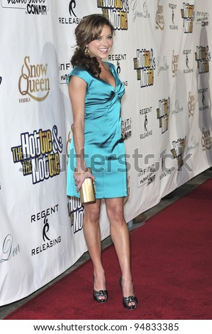 "Christine Lakin at the Los Angeles premiere of her new movie ""The Hottie and the Nottie"" at the Egyptian Theatre, Hollywood. February 4, 2008  Los Angeles, CA Picture: Paul Smith / Featureflash"