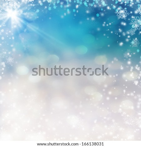 Christmas Abstract Background. - stock photo
