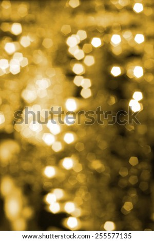 Christmas and Happy New Year background. Festive abstract background with bokeh out of focus lights