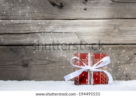Christmas and presents - stock photo