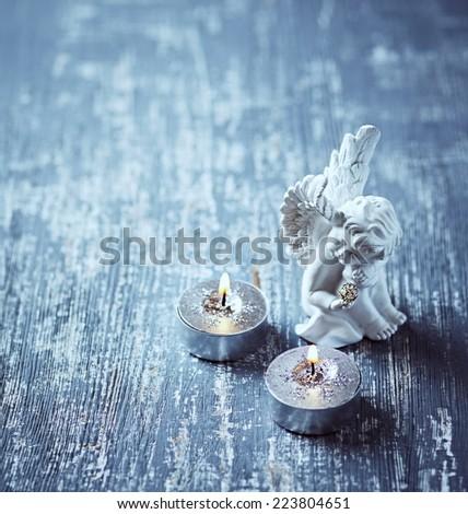 Christmas Angel - stock photo