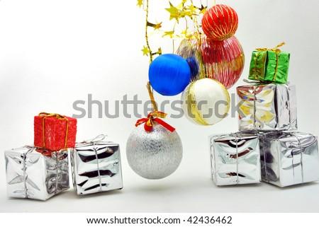 Christmas atmosphere - stock photo