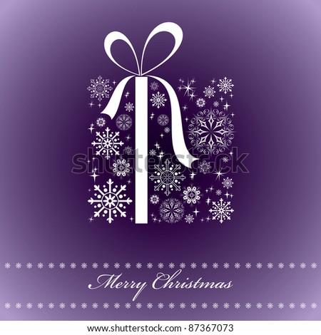Christmas Background. - stock photo