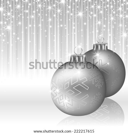 Christmas Background - Abstract Decorative Illustration