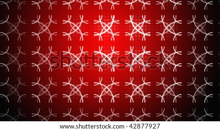 Christmas background. Abstract design. Red and white.