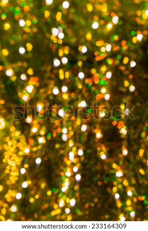 Christmas background. Abstract lights color Bokeh - stock photo