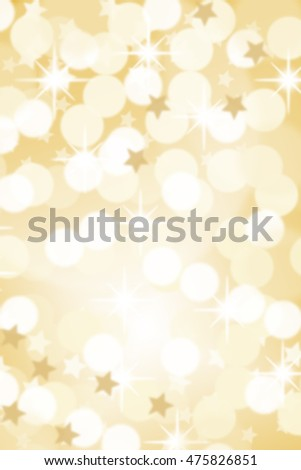 Christmas background card stars lights golden copyspace copy space gold