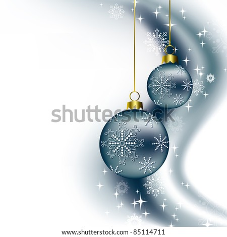 Christmas Background. Illustration. - stock photo