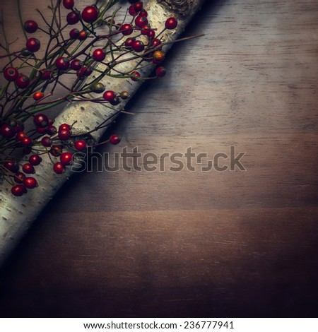 Christmas background - instagram style - stock photo