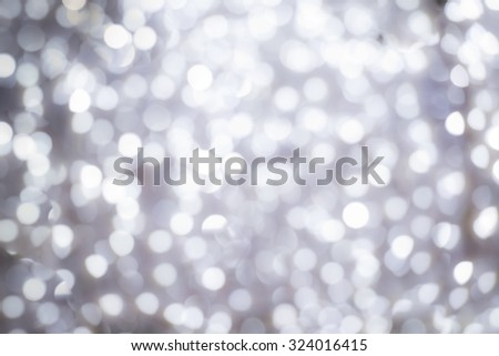 Christmas background made of decorative lights - stock photo
