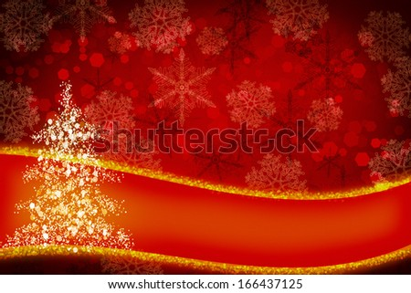 Christmas background, perfect for design - stock photo