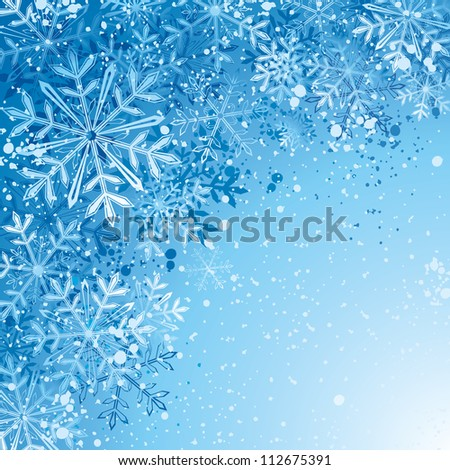 Christmas background. Raster version, vector file id: 111192161 - stock photo