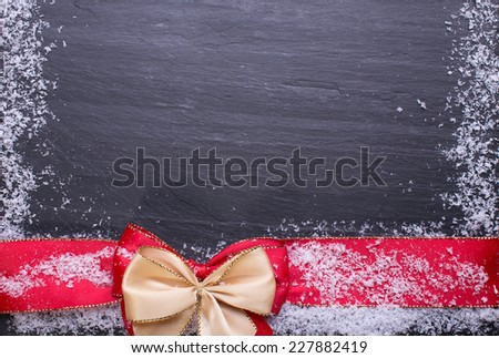 Christmas background with copy space  - stock photo