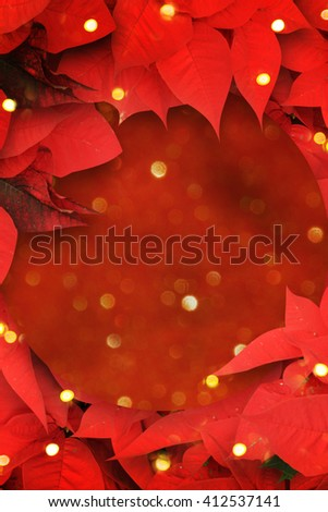 Christmas background  with  decorations. - stock photo