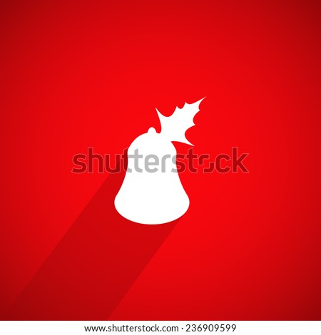 christmas background with special design - stock photo