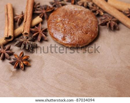 christmas bakery - stock photo