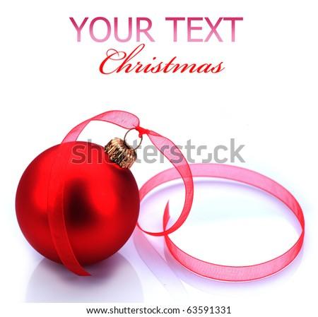 Christmas Bauble - stock photo