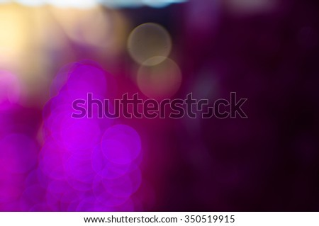 Christmas Bokeh background - stock photo
