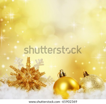 Christmas Border Design.Abstract Holiday Background - stock photo