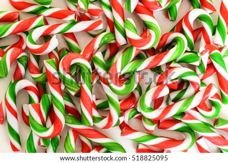christmas candy cane background