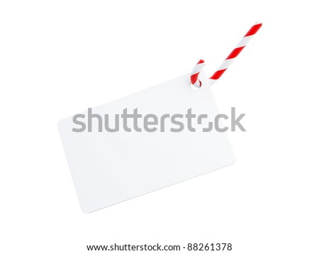 Christmas Candy form on a white background