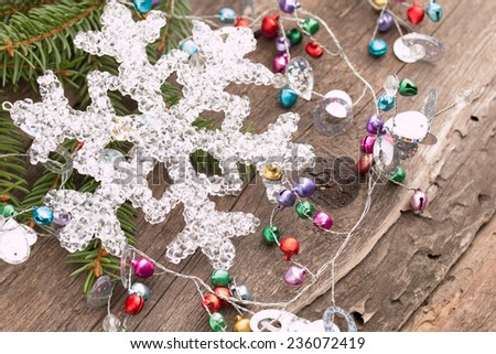 Christmas card  background - stock photo