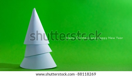 Christmas card. Look through my portfolio to find more images of the same series - stock photo