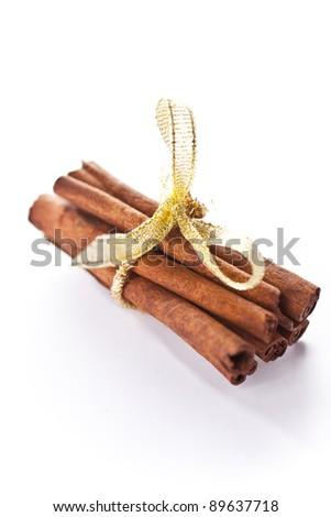 Christmas cinamon - stock photo