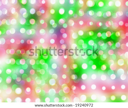 Christmas Color Lights