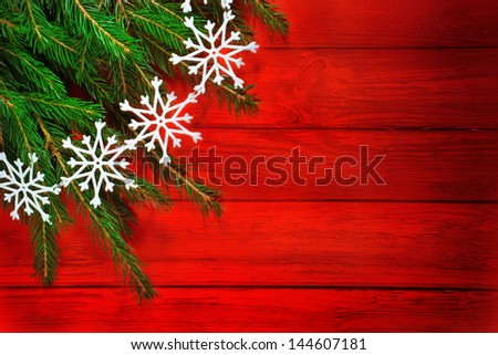 Christmas composition with Christmas decoration. Christmas - stock photo