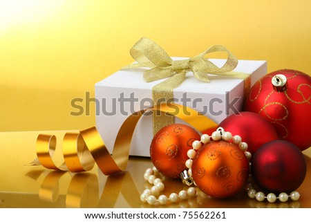 Christmas concept - stock photo