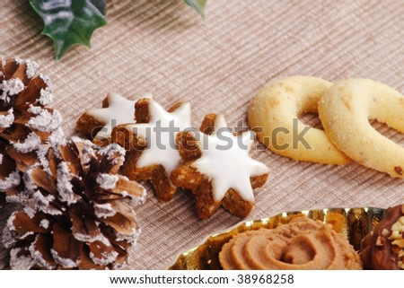 christmas cookie - biscuit