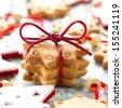 Christmas cookies - stock