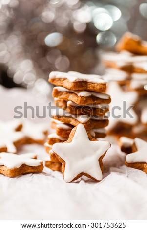 Christmas cookies - stock photo