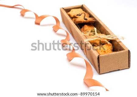 Christmas Cookies in the box