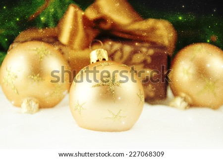 Christmas decoration. - stock photo