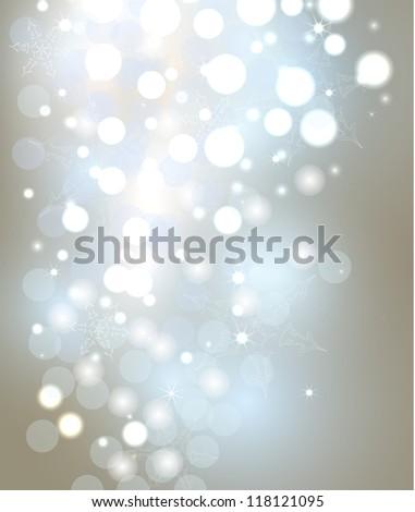 Christmas decoration background - stock photo