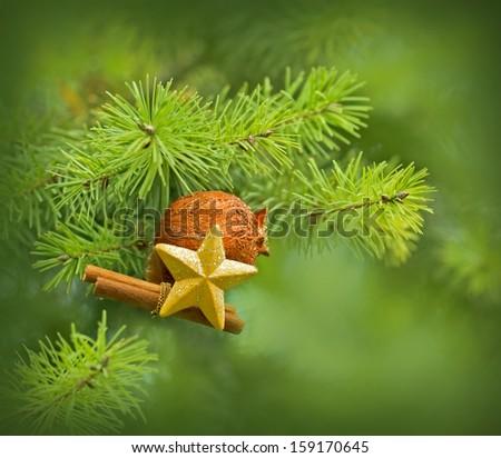 Christmas decoration - New Year decoration   - stock photo