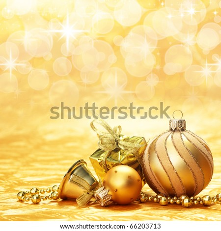 Christmas decoration. vintage background with space for text or image.