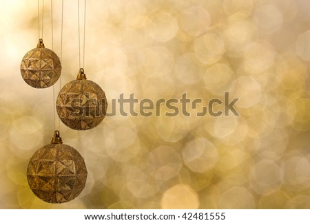 Christmas decoration. vintage background with space for text or image.   paper textures. - stock photo