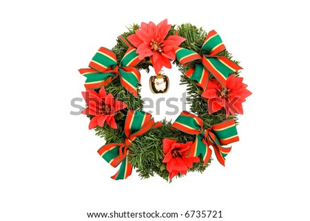 Christmas decoration, wreath, advent