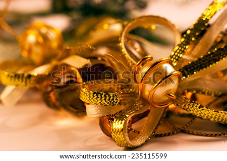 Christmas decorations - stock photo