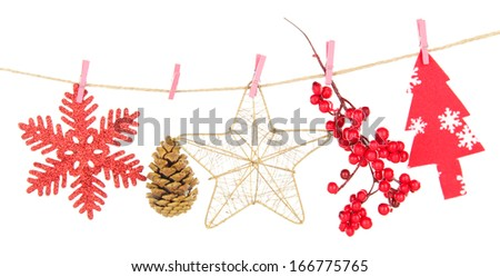 Christmas decoration on wood plant stock photo 226299244 for Decoration on line