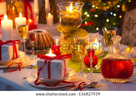 Christmas drinks and presents for long winter nights