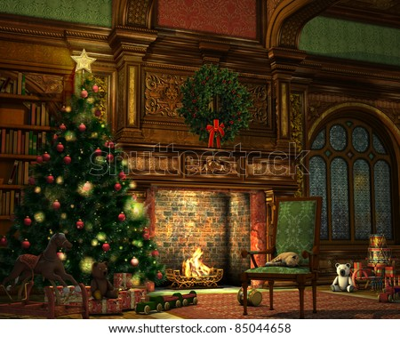 Christmas Eve - stock photo