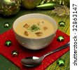 Christmas fish soup - stock photo